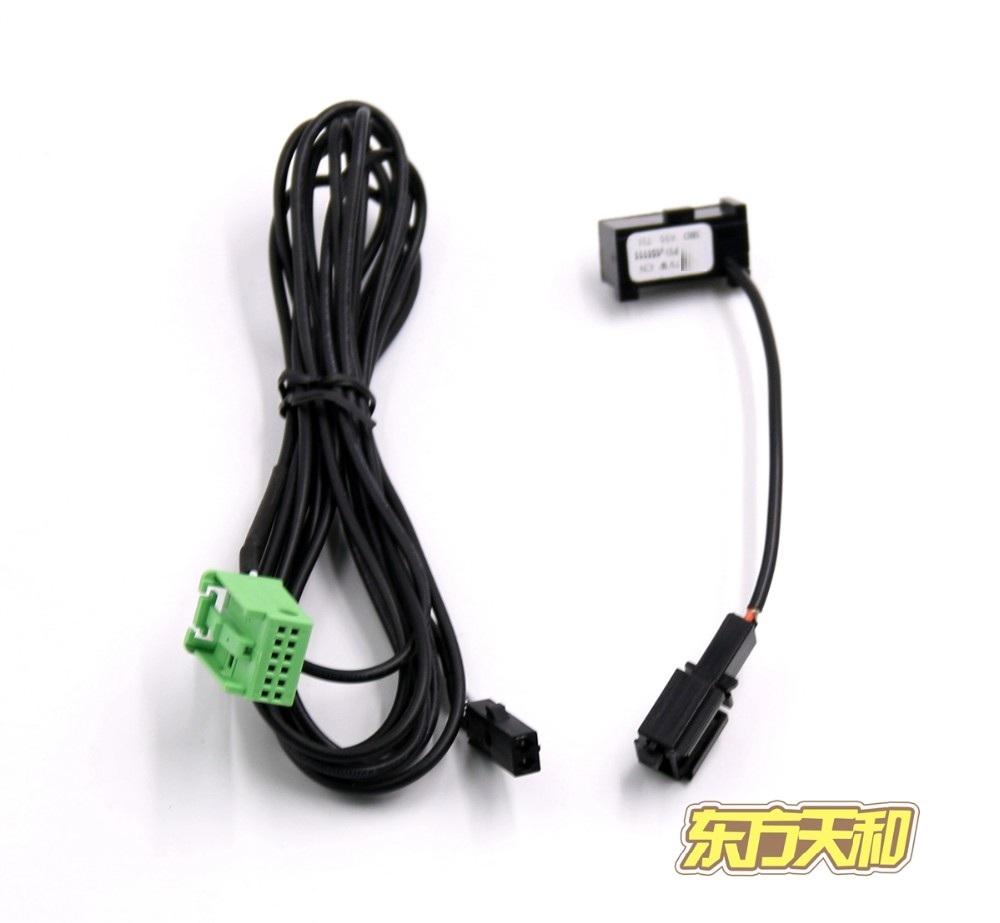 Prix pour Nouveau Câblage et Microphone 3B0 035 711 B pour VW RNS 315 Bluetooth