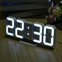 8 A Forma di Display A LED Digitale Orologi Da Tavolo Termometro Igrometro Da Tavolo Creativo Orologio da Tavolo a 215x25x85mm Goccia libero
