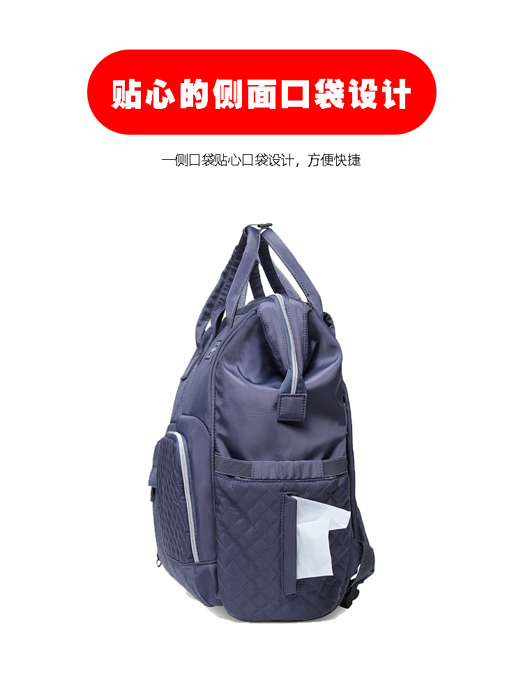 2019 new fashion Diaper bag multi-function Mummy Maternity Nappy Bag Brand Large Capacity Travel Backpack Designer (4)