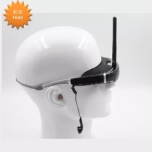 New 68 buzz cut on display5.8 G wireless receiving video transmission uav video glasses 3D VR  glasses with AV IN