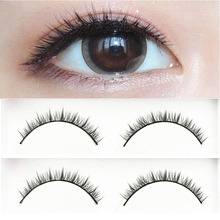 5 Pairs Natural False Eyelashes Makeup Synthetic Hair Tapered Lashes Eyelash Extension Comestics Hand-made Short False Eyelash