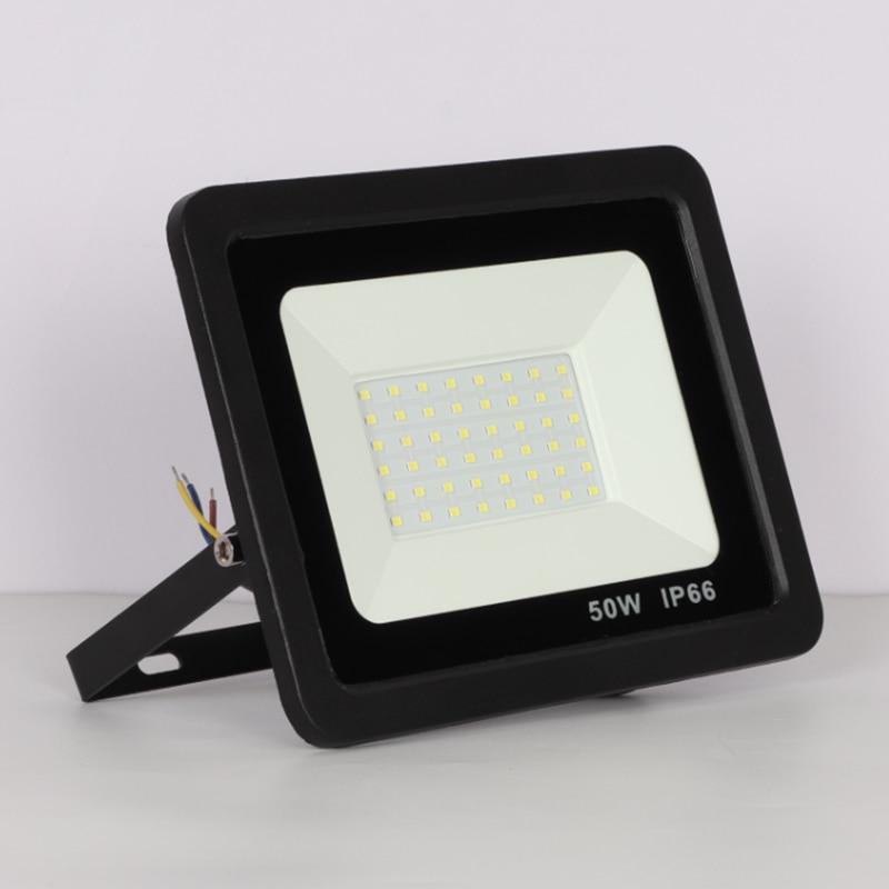 30//50W LED Flood Light Warm White Lamp Outdoor Security Lighting Waterproof IP66