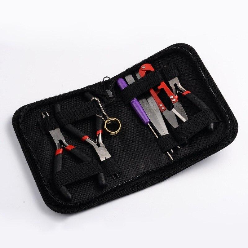 Jewelry-Tools-Sets Tweezers Pliers Tape-Measure-Pins Vernier-Caliper Repair-Tool DIY