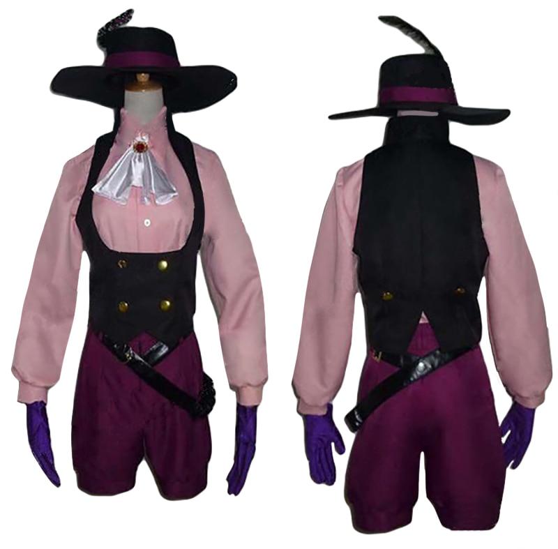 Persona 5 Haru Okumura Noir Cosplay Costume Halloween Fancy Dress Customized
