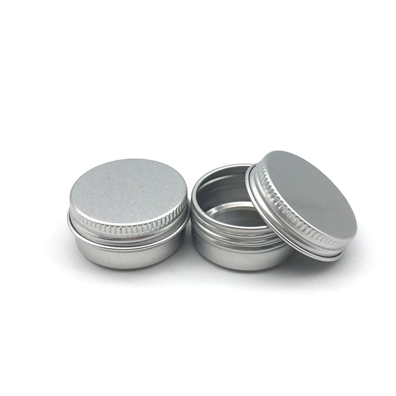 Image 5 - 5Pcs 5g/10g/15g/20g/30ml Empty Aluminum Jars Refillable Cosmetic Bottle Ointment Cream Sample Packaging Containers Screw Cap-in Refillable Bottles from Beauty & Health