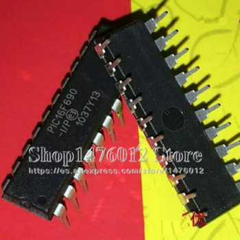 PIC16F690 PIC16F690-I/P DIP-20 FLASH de 8 bits 20 MHz RISC microcontrolador PDIP20 circuito integrado IC