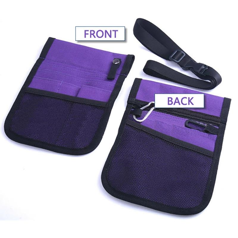 10pcs/sets Waist Bag Nurse Pouch For Portable Tool Quick Pick Heupt Women Pocket Belt Organizer Bandolera Enfermera Tookit Purse