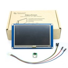 """5.0 """"nextion hmi inteligente usart uart serial toque tft lcd módulo painel de exibição para raspberry pi 3 a kits nx8048t050"""