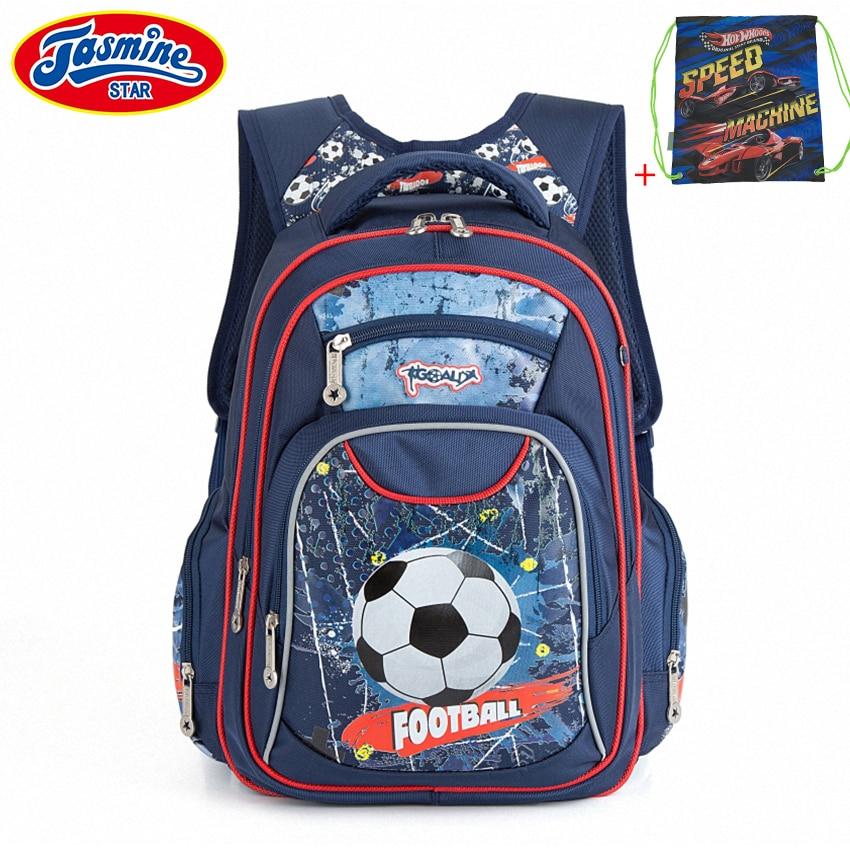 JASMINESTAR School Backpack For Boy Large Capacity Orthopedic Satchel Children School Bags Girls Cartoon Childrens Backpack