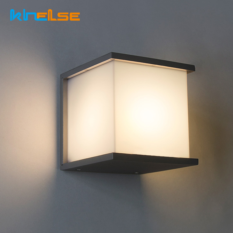 Waterproof Modern LED Wall Light IP65 Porch Light 15W Mailbox lights Wall Lamps Gate Courtyard Garden Outdoor Corridor AC90~260V 18w led outdoor waterproof wall light ip65 modern nordic style indoor wall lamps living room porch garden lamp ac90 260v lp 42
