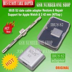 IBUS S1 iBUS S2 adaptador de cable de fecha para restaurar y reparar compatible con Apple Watch Series 1 y 2 38 mm (N74ap), 42 mm (N75ap)