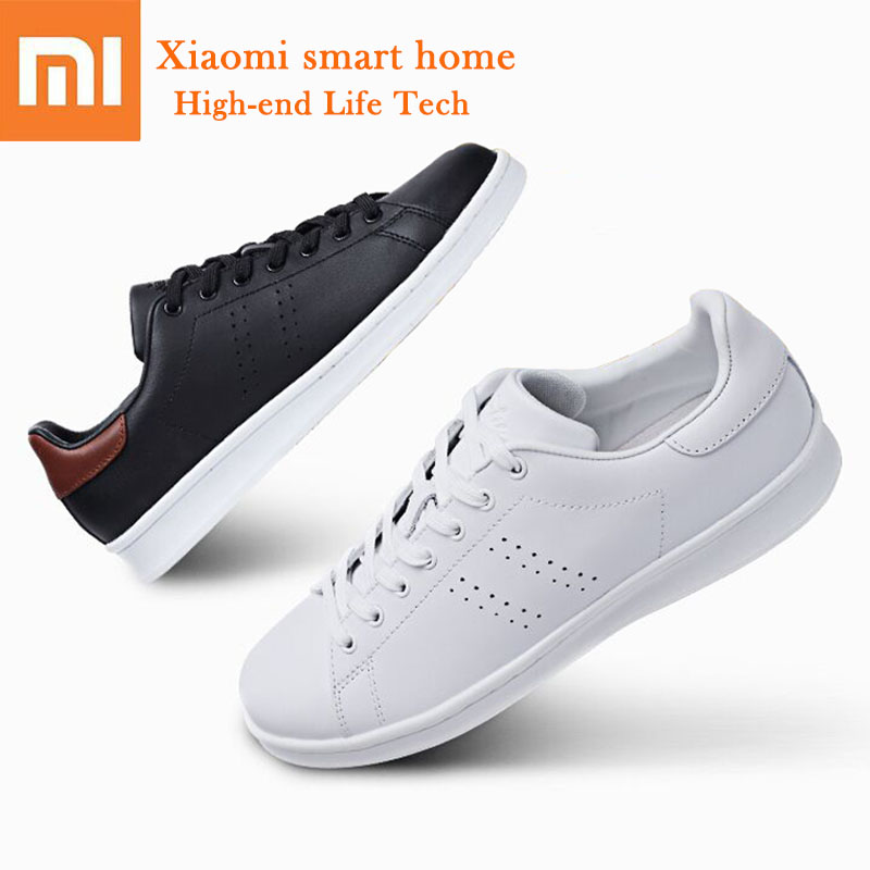 Original Xiaomi FREETIE Urban Classic Sneakers Non slip TPR Rubber Sole With Breathable Hole Sport Leather