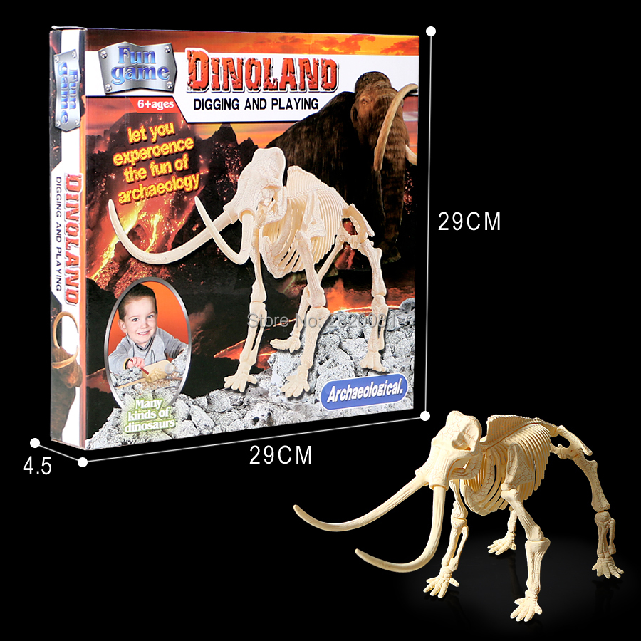 Digging and playing Dinosaur bone assembled 3D models,funny archaeology explore game toys for children educational Excavate toys