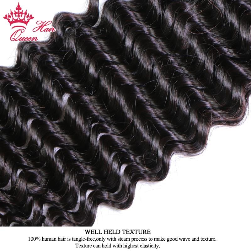 Queen Hair Products Peruvian Deep Wave Hair Bundles 100 Human Hair