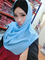 CJ44 Butterfly shape Solid Cozy women muslim hijab wrap muslim hijab summer scarf