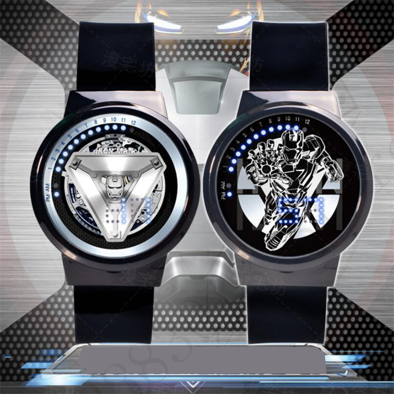new-the-avengers-4-iron-man-touchscreen-waterproof-watch-led-pointer-joint-font-b-marvel-b-font-super-hero-electronic-watch-movie-figure-toys