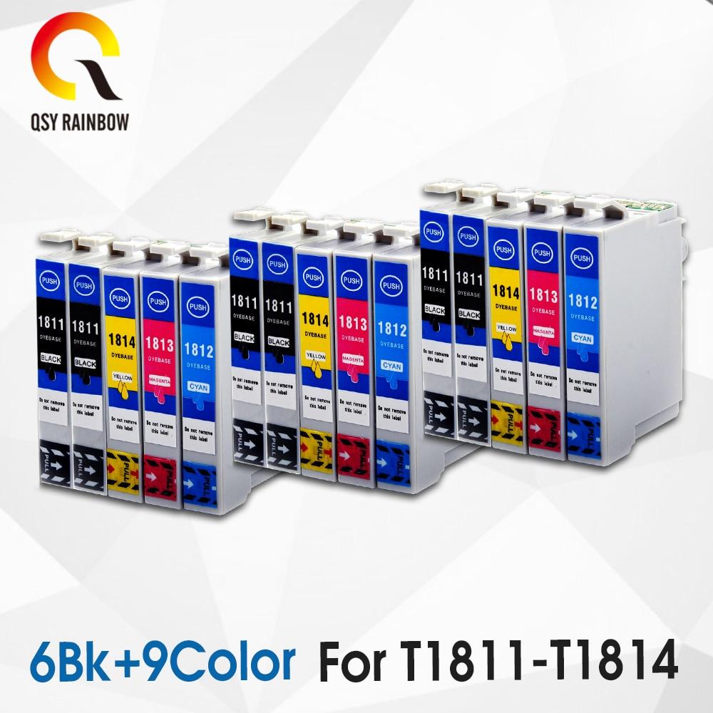 cartucho de tinta compativel com epson cartucho de tinta 18xl t1811 t1814 para epson xp205