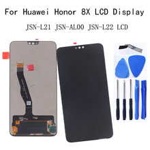 6.5 Original LCD Display For Huawei Honor 8X touch screen digitizer alternative honor 8x JSN-L21 JSN-AL00 JSN-L22 display
