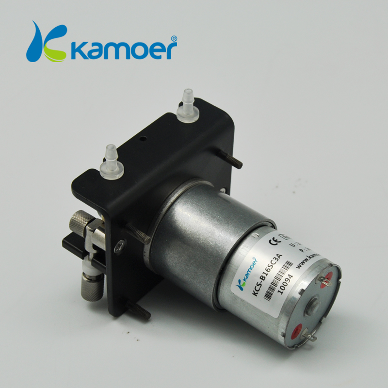 Kamoer KCS mini peristaltic pump 24V electric water pump with high percision peristaltic dosing pump with 24V dc motor peristaltic pump basictype bt100m mc12 6 roller
