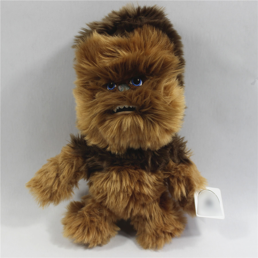 Star Wars 8 Chewbacca Plush toys 30cm Chewbacca Soft doll Animal Stuffed Figure Gifts For Kids plush ocean creatures plush penguin doll cute stuffed sea simulative toys for soft baby kids birthdays gifts 32cm