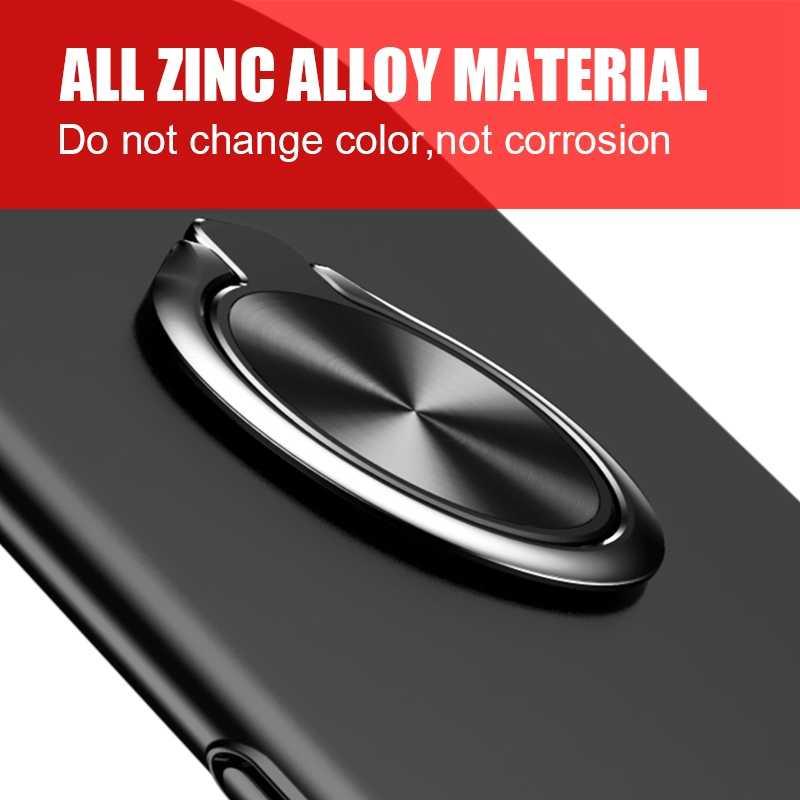 Houder Vinger Ring Metalen Mobiele Telefoon Standhouder Voor iPhone 9X8 7 plus 5 5S 6 6p Magnetische Telefoon ring Ronde Car Mount Stand