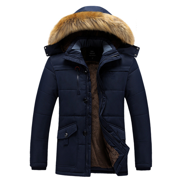 Best Offers Men's Hooded Parka Winter Man Jacket New Waterproof Thick Fleece Warm Coat Casual Overcoat Male Clothes Outwear Plus Size L-8XL