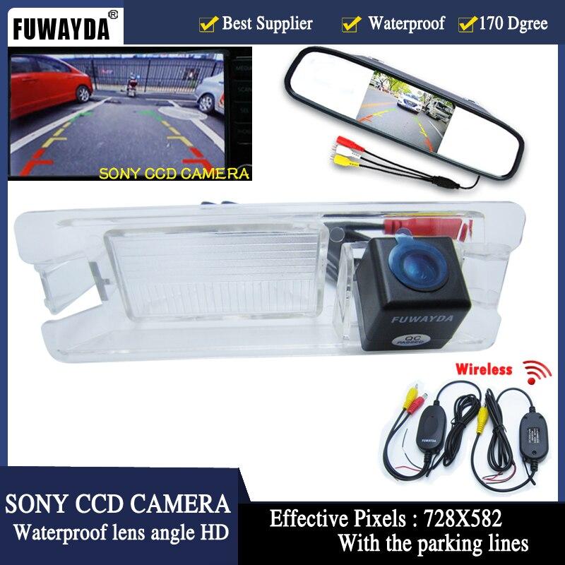 FUWAYDA 4 3 TFT LCD Car Rear View Mirror Parking Monitor SONY Car rear view font