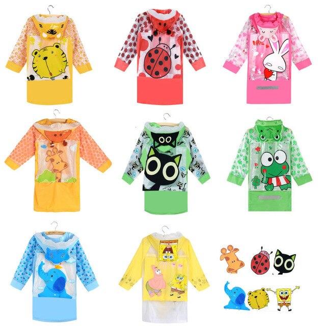 Student Raincoat for Kids Girls boy rainproof Rain Coat Waterproof Poncho Children Rainwear Waterproof Rainsuit Raincoat YY234-1