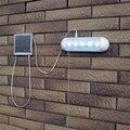 1 Unidades 5 LED Luz de Emergencia Al Aire Libre Dividida Populares Durable de Plástico de Acero Inoxidable Jardín Solar Luz de la Pared/Pasillo Solar Lámpara de pared
