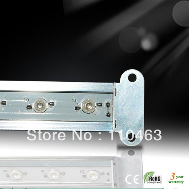 все цены на New professional grow light 11W LED Grow strip Light waterproof series 304lm 11pcsx1W 300x28x15.5 for indoor grow lamps онлайн