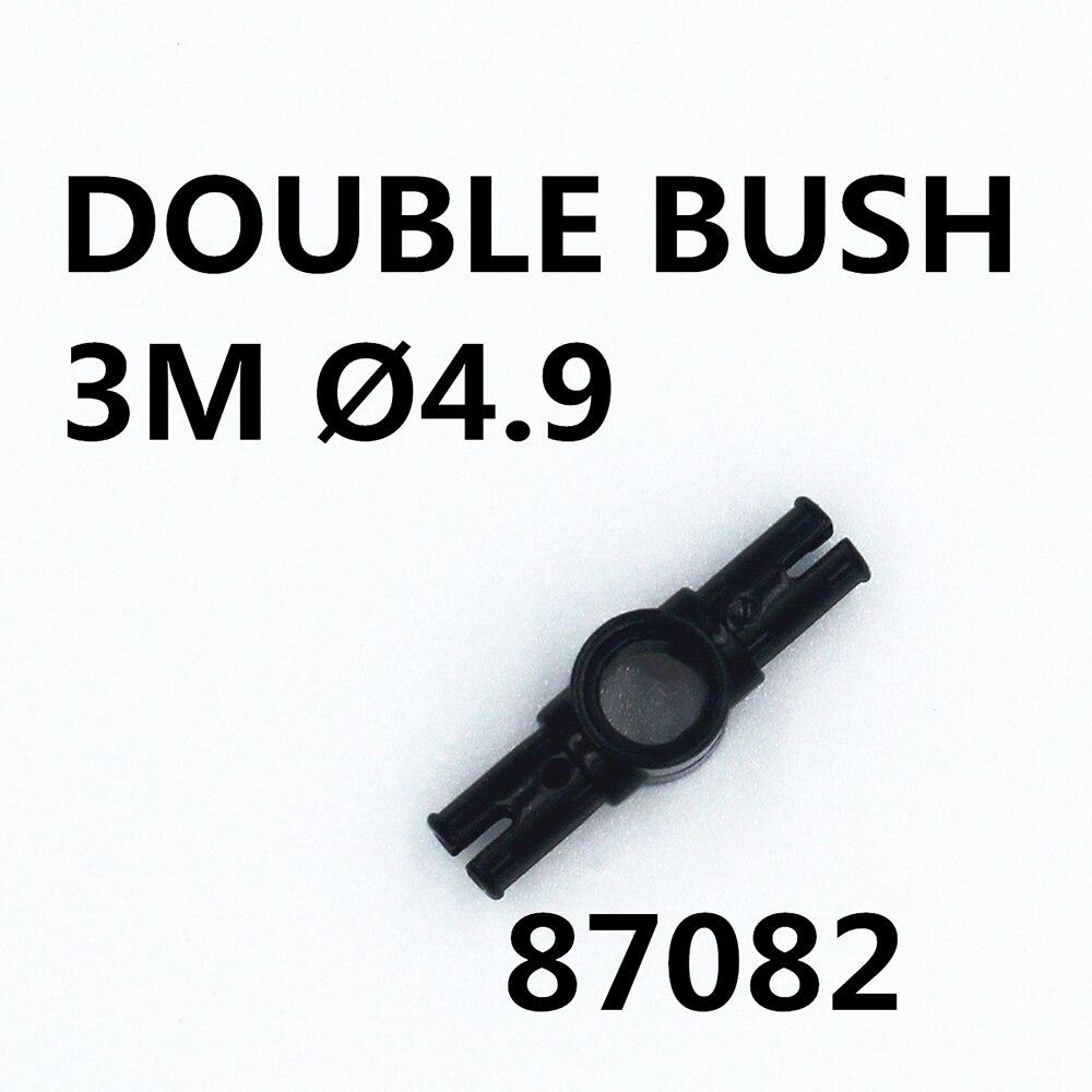 MOC Technic Parts 20pcs DOUBLE BUSH 3M DIA4.9 Compatible With Lego For Kids Boys Toy 87082