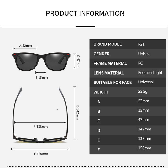 Brand Design Polarized Sunglasses Men Women Driver Shades  4