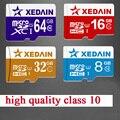 XEDAIN real capacity Memory Card Micro SD Card 8GB 16GB 32GB 64GB Class 10 Tarjeta Micro SD 8GB Clss 10 TF Mini Memoria Carte