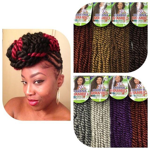 Crochet Freetress Equal Synthetic Hair Braids Havana Twist Style