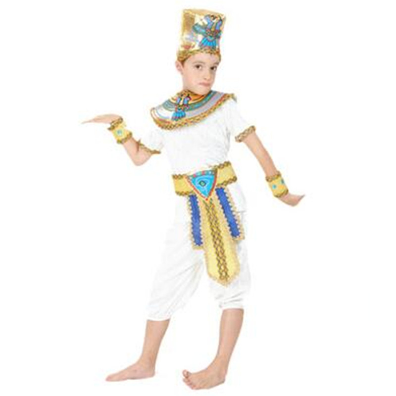 aliexpresscom buy ancient egypt pharaoh queen costumes princess royal golden women men priest costume adult halloween cosplay kids child clothing from - Egyptian Halloween Costumes For Kids
