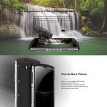 4G HOMTOM ZOJI Z7 Original 5.0 inch IP68 Waterproof Smartphone Android 6.0 MTK6737 Quad Core 1.3GHz 2GB RAM 16GB ROM Cell Phone