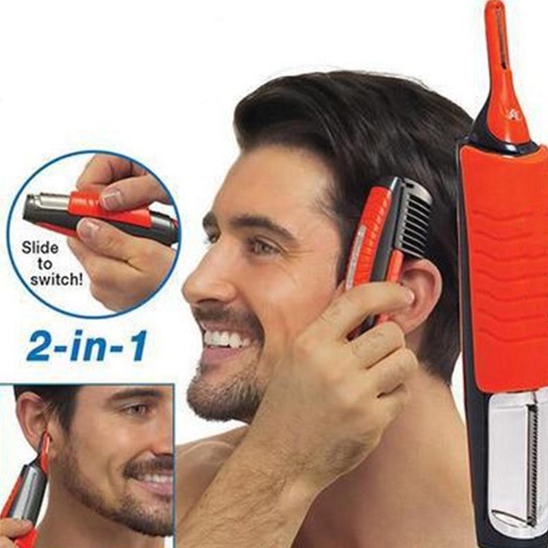 Removedor de pelo de barba de hombre de BellyLady 2 en 1 removedor de afeitadora removedor de cabello