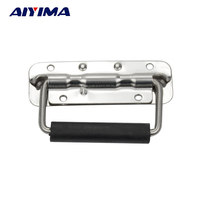 1pc Stainless Steel Handles For Suitcases High Quality Bag Metal Strap Bag Accessories Suitcase Repair Parts