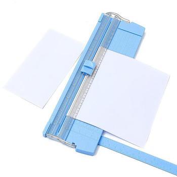 A4/A5 Patchwork Cutting Mat Paper Trimmer Ruler Cutter Machine Precision Card School Guillotine Pull-out Ruler Office Stationery 1