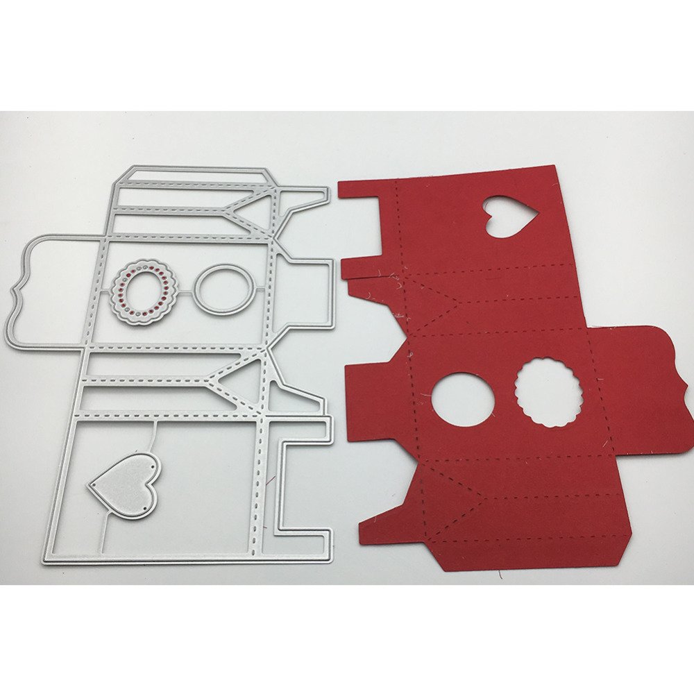 201mmx147mm scrapbooking love sun lace box shape Metal steel cutting candy box shape Book photo album art card Dies Cut