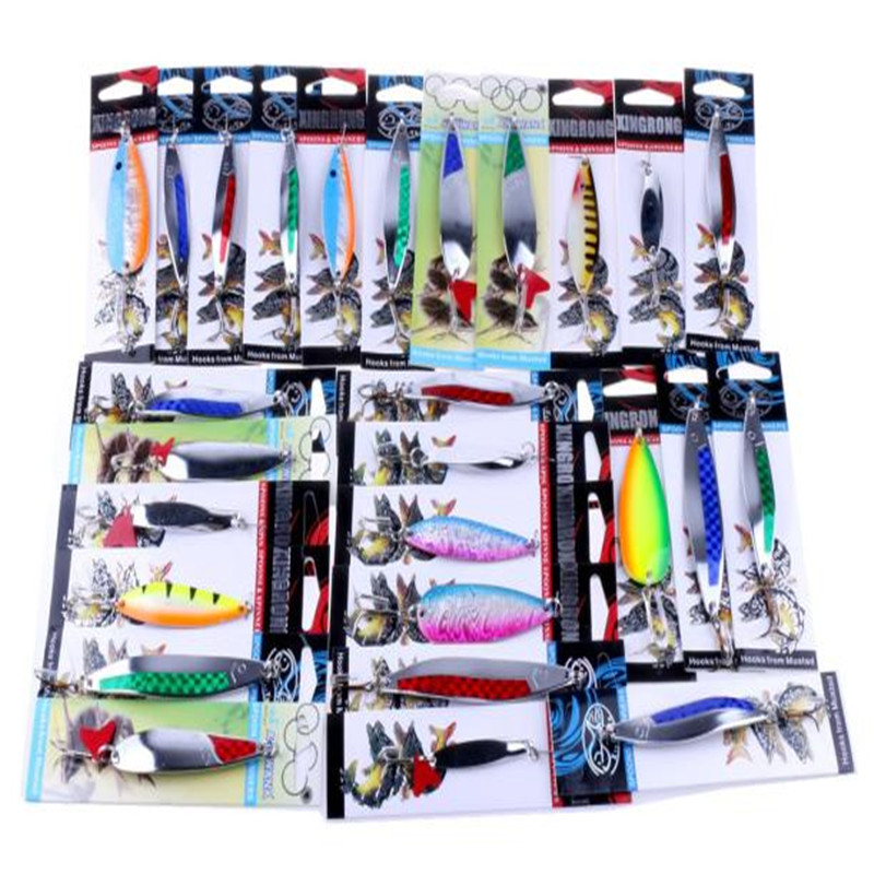 Snowshine 3022 details about fishing lures metal spinner for Wholesale fishing tackle suppliers and manufacturers