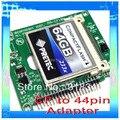 """Compact Flash CF a 44 pin 2.5 """"o 1.8"""" IDE adaptador para el ordenador portátil/notebook con número de seguimiento al por mayor"""