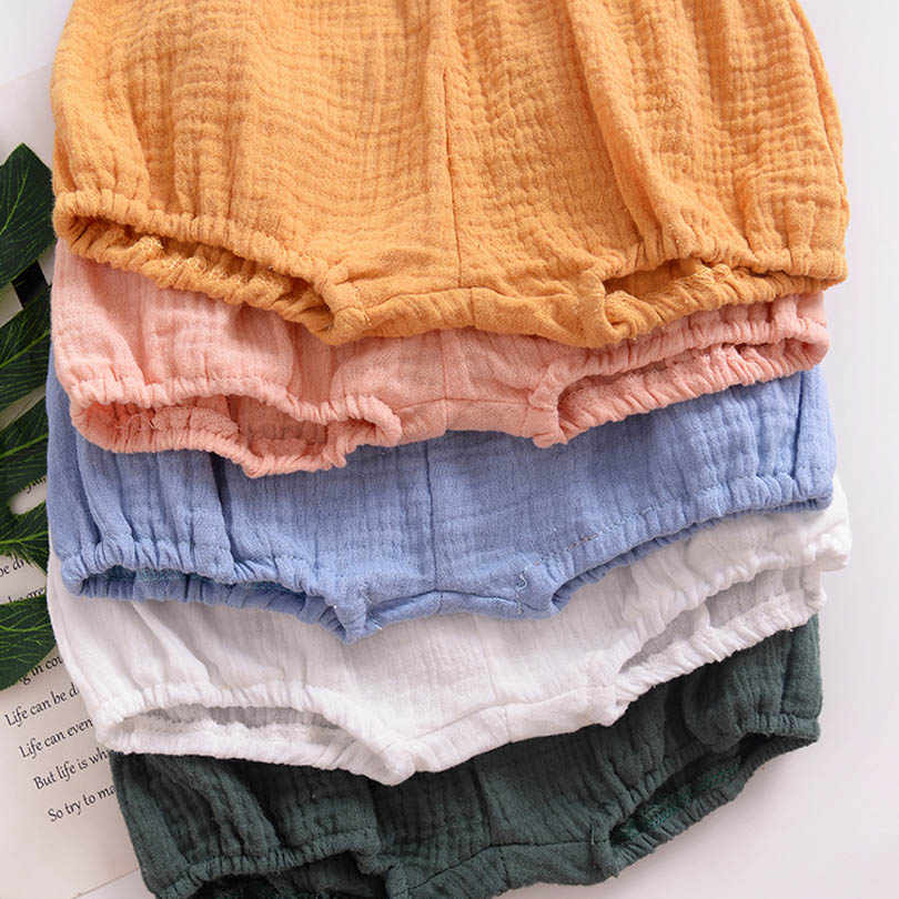 eb576c6df779 ... 2018 Baby Girls BOYS Summer Shorts Linen Cotton Kids Outfits Children  Clothing Newborn Comfortable Toddler PP