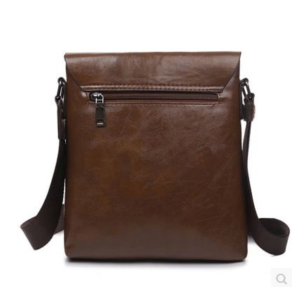 2018 New Men leather famous brand Messenger Bags Bag Fashion Casual Business Shoulder bags for man,Men's Travel Bags NB1805 5