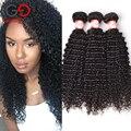 Gossip Girl 7А Перуанский Kinky Вьющиеся Волосы Девственницы 3 Связки дешевые Перуанский Девственные Волосы Человеческие Волосы 100% Девственница Перуанский Вьющиеся волос