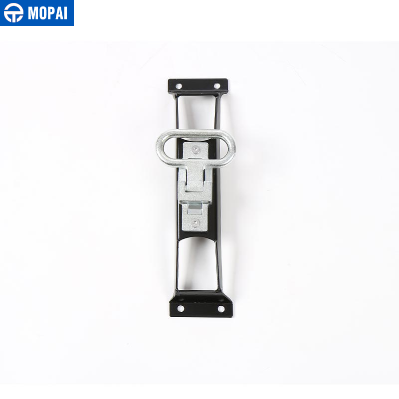 Image 4 - MOPAI Car Exterior Door Hinges Pegs Metal Foot Rest Pedals Foot Plate for Jeep Wrangler 2007 Up Car Accessories Car Styling-in Chromium Styling from Automobiles & Motorcycles