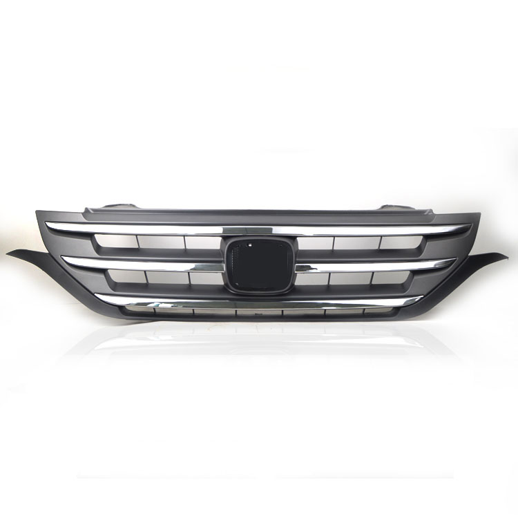 High quality For Honda crv cr-v 2012-2015 Perfect Match Front Grills Racing Grille frp fiber glass nobless style front grill fiberglass racing grille grills accessories fit for honda odyssey rc1 car styling