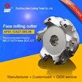 Обрабатываемые вставки SEET12T3 Индексируемые фреза фрезерные инструменты облицовка режущего диска FMA01-080-A27-SE12-06/AF01.12A27.080.06