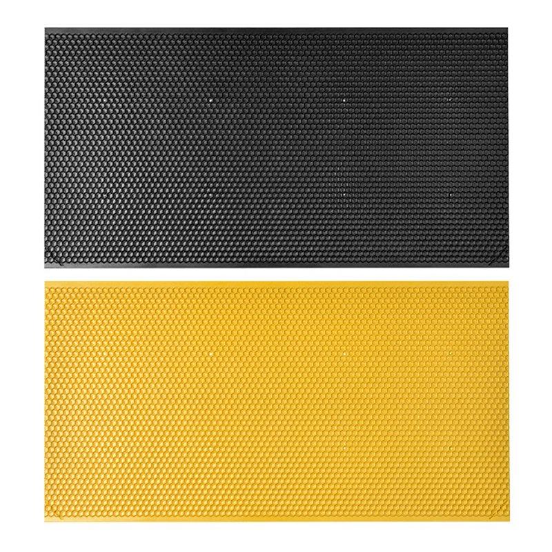 Bee Beehive Nest 75% Wax Beeswax Tablets 42.5*21CM Gold Bee Honeycomb Material Beekeeping Tool