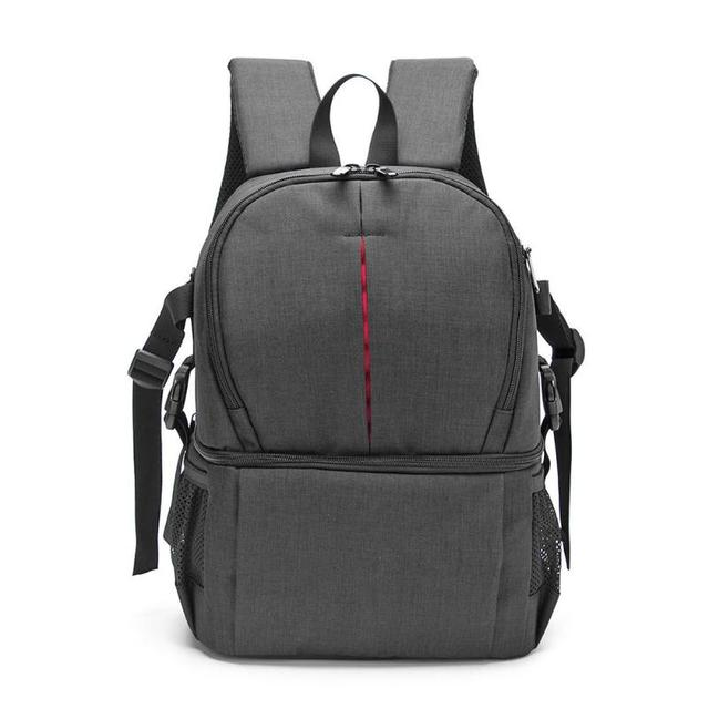 Waterproof Oxford Fabric Photo Camera DSLR Video Soft Padded Shoulders Backpack SLR Bag Case for Digital Camera Photo Bag Case